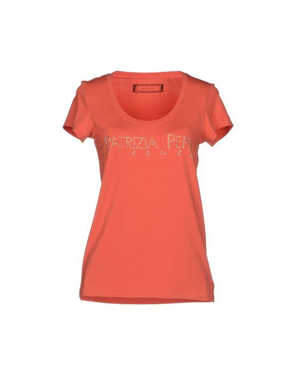 红色 PATRIZIA PEPE T-shirt