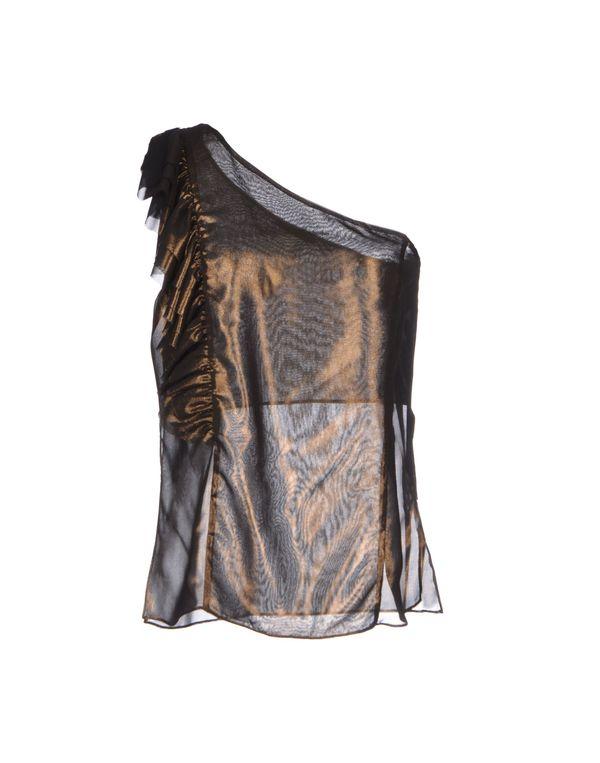 青铜色 PINKO BLACK 上衣