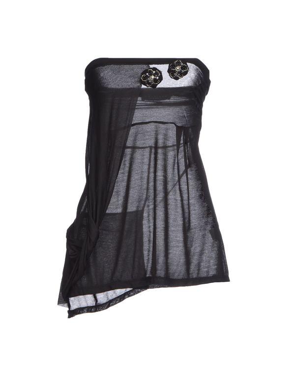 黑色 TWIN-SET SIMONA BARBIERI 抹胸