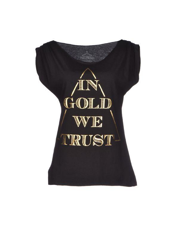 黑色 TEE TREND T-shirt
