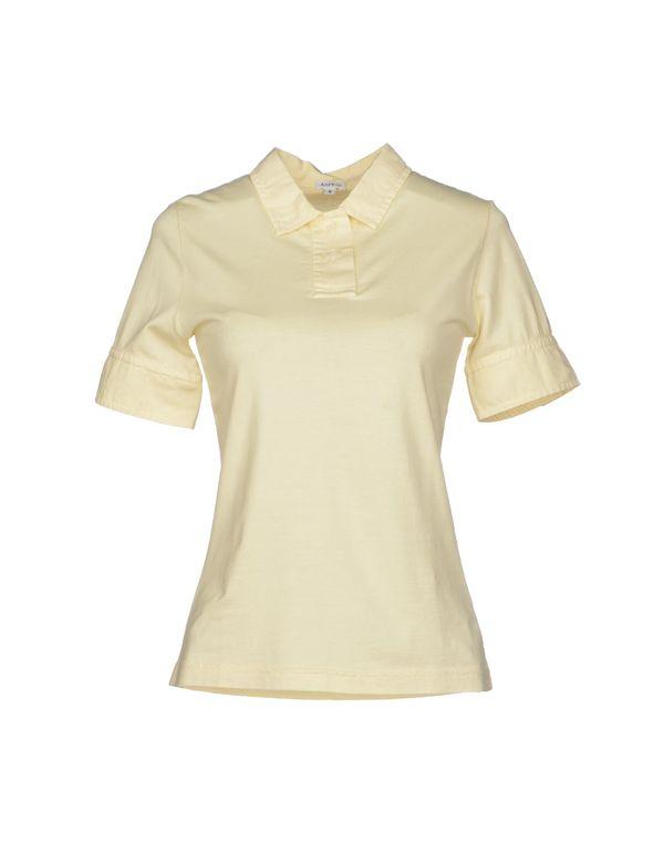 黄色 ASPESI Polo衫