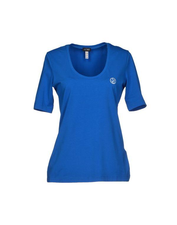 中蓝 ARMANI JEANS T-shirt