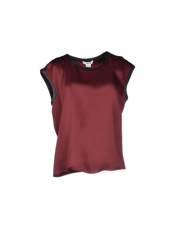 波尔多红 HELMUT LANG 女士衬衫