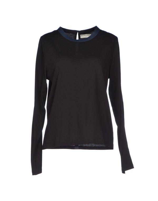 黑色 BALENCIAGA T-shirt