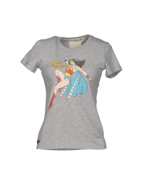 淡灰色 ATELIER FIXDESIGN T-shirt