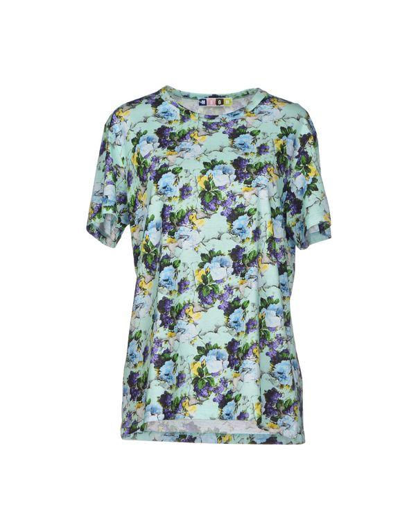 蓝绿色 MSGM T-shirt