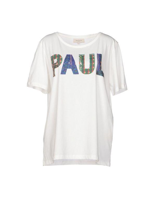 象牙白 PAUL & JOE T-shirt