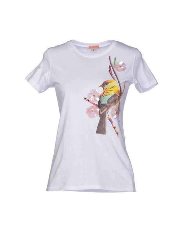 白色 MACRÍ T-shirt