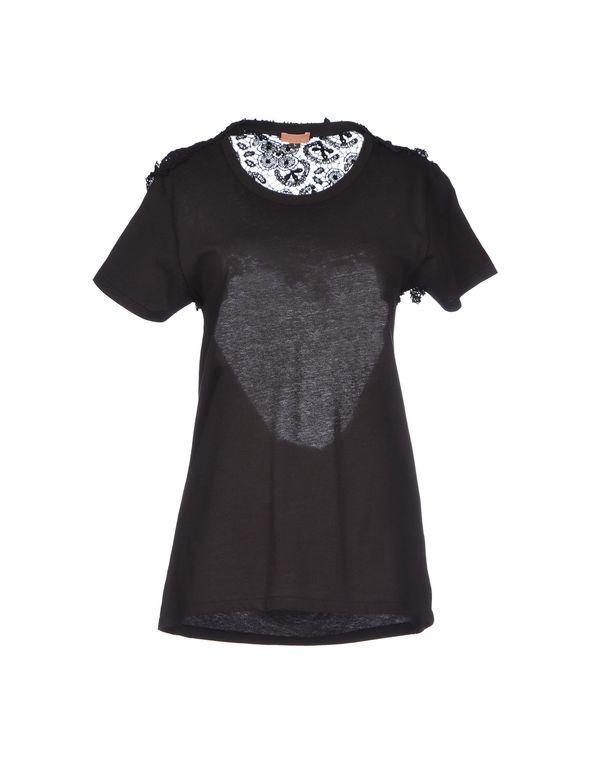 黑色 MACRÍ T-shirt