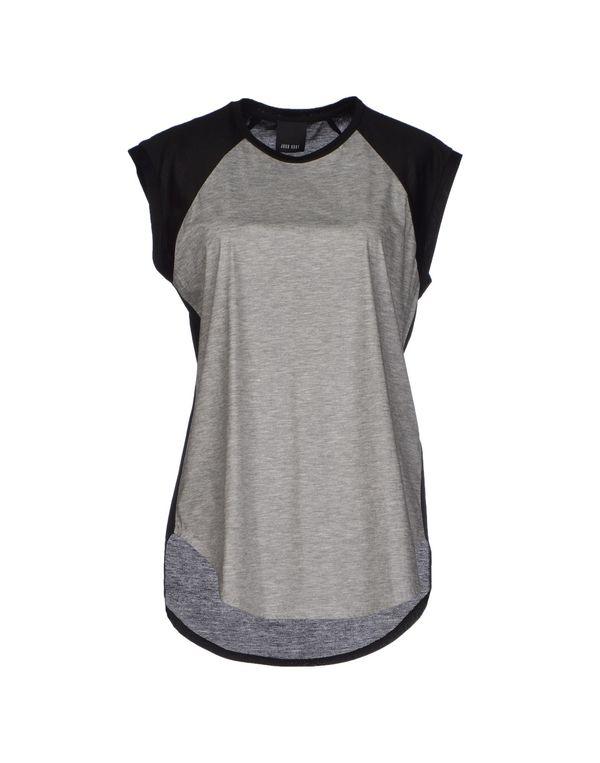 淡灰色 JOSH GOOT T-shirt