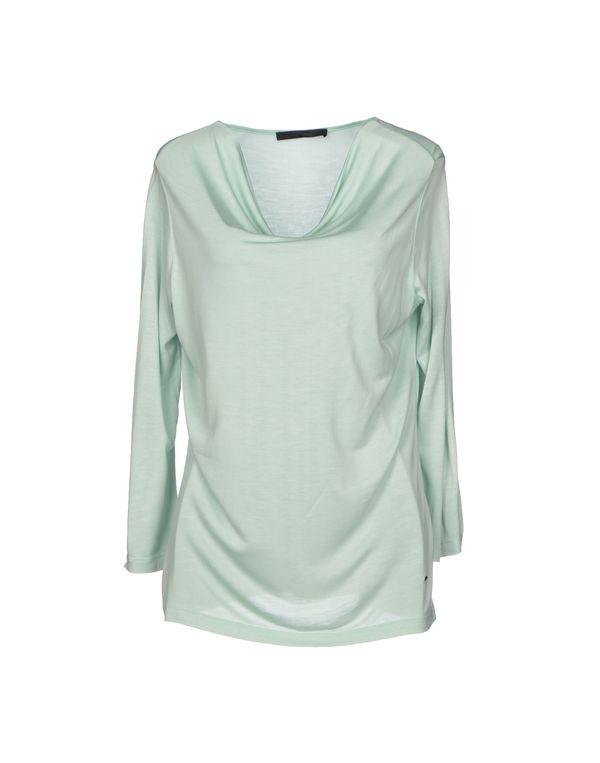 浅绿色 LES COPAINS T-shirt