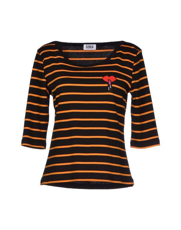 黑色 SONIA BY SONIA RYKIEL T-shirt