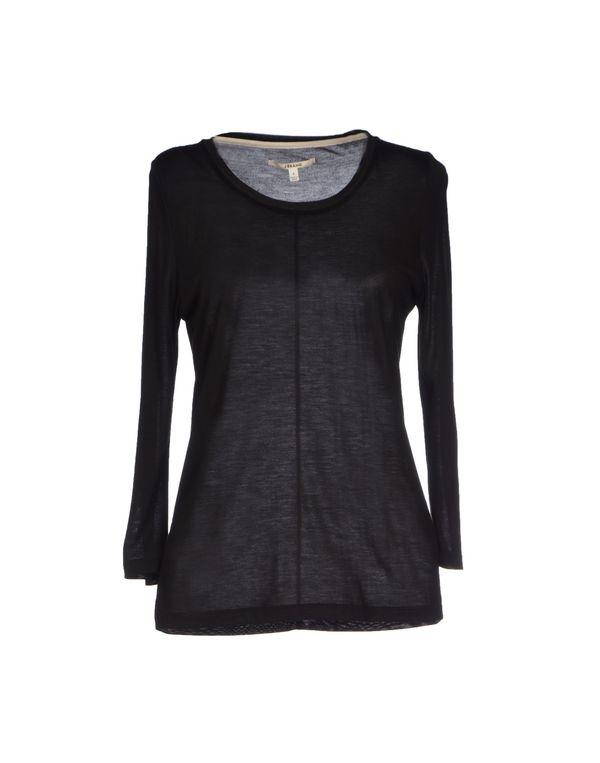 黑色 J BRAND T-shirt