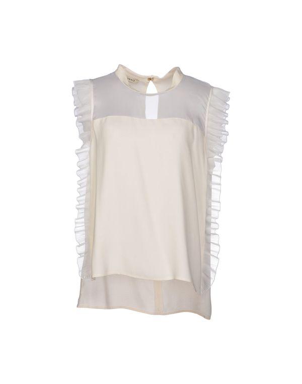 象牙白 PINKO Shirt
