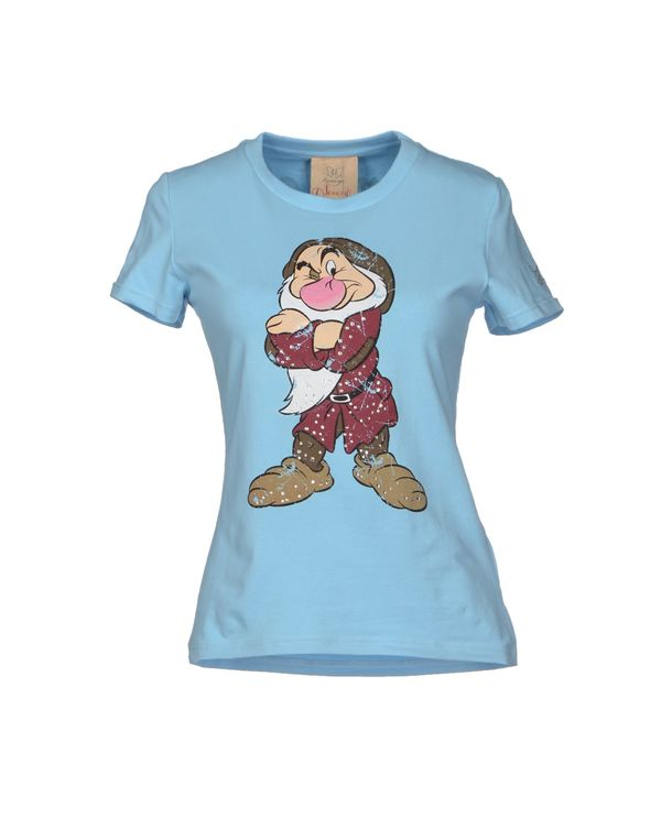 天蓝 ATELIER FIXDESIGN T-shirt