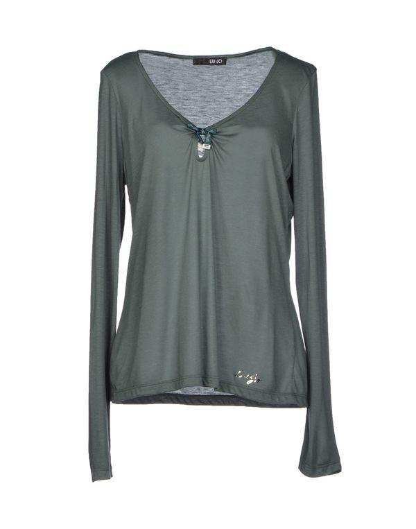 军绿色 LIU •JO T-shirt