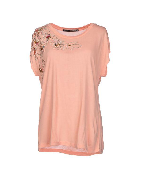 粉红色 ANNARITA N. T-shirt