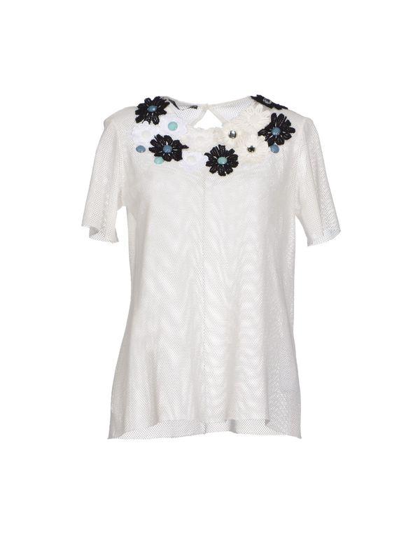 白色 ANNARITA N. T-shirt