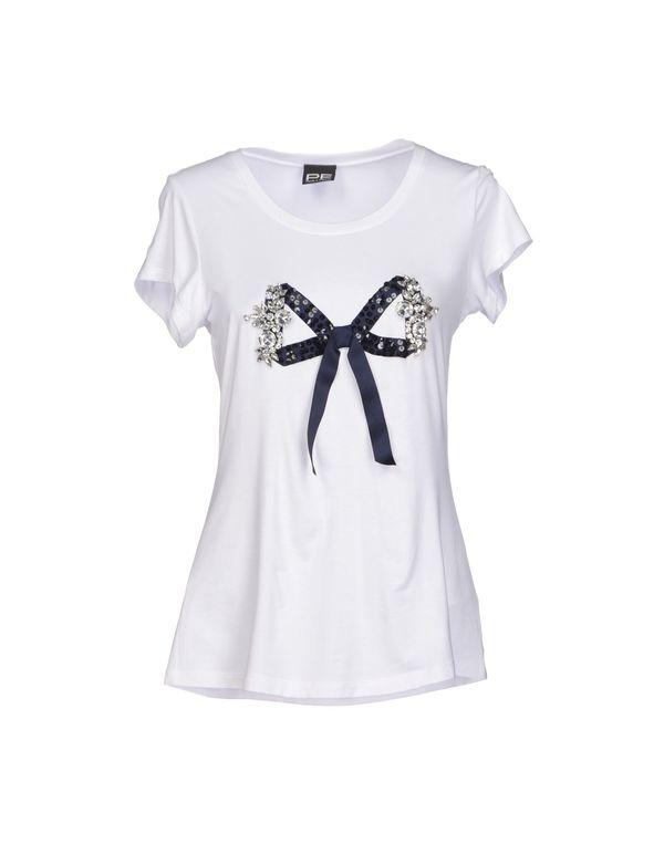 白色 PF PAOLA FRANI T-shirt