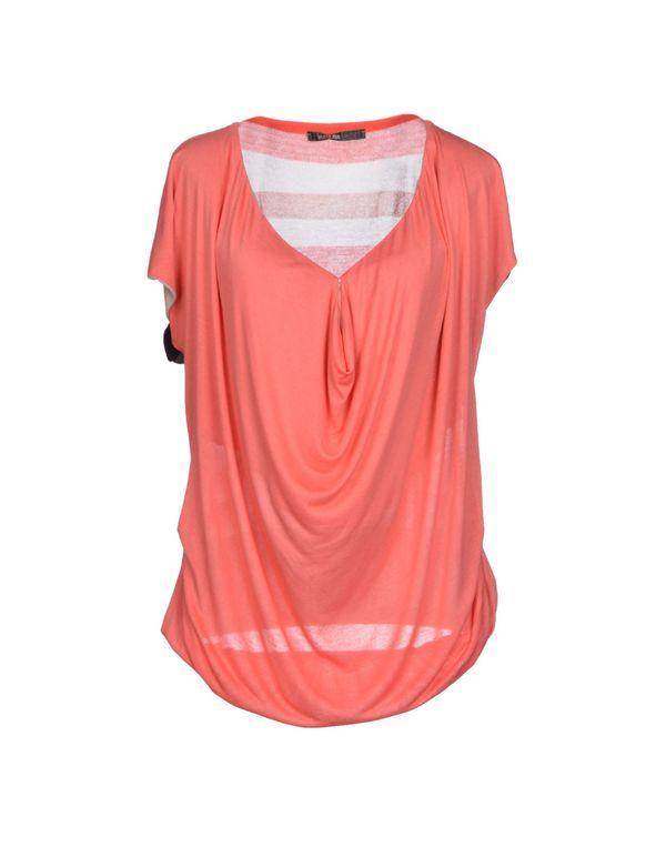 珊瑚红 PIANURASTUDIO T-shirt