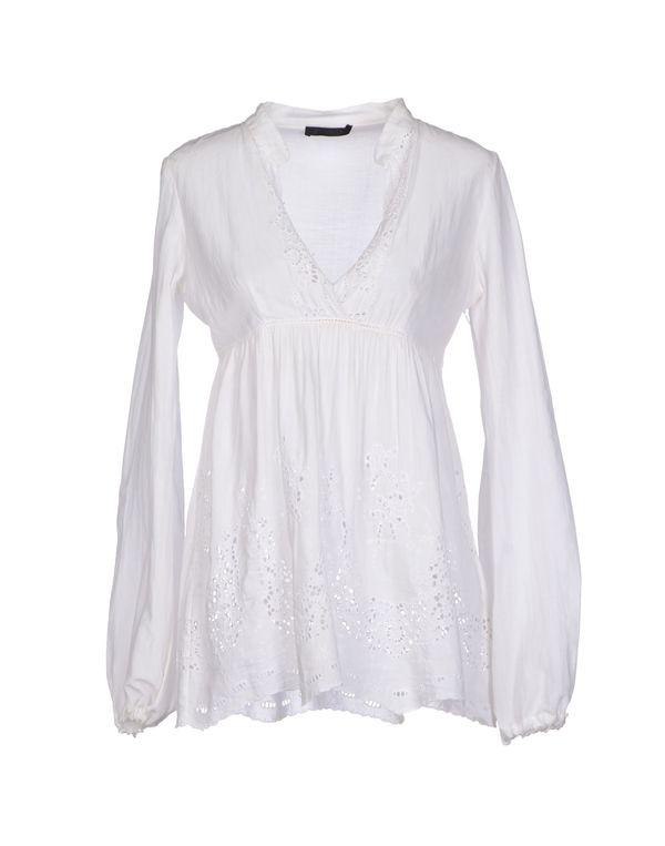 白色 PINKO BLACK 女士衬衫