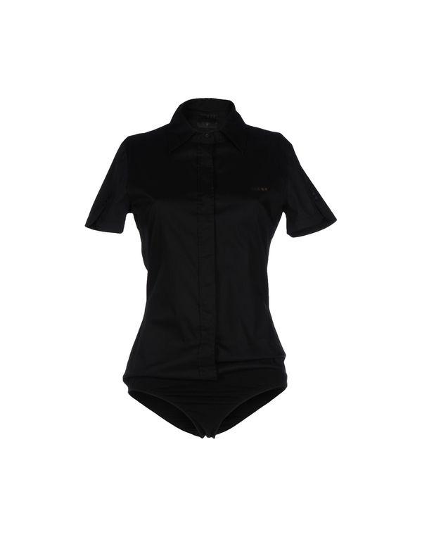 黑色 GUESS Shirt
