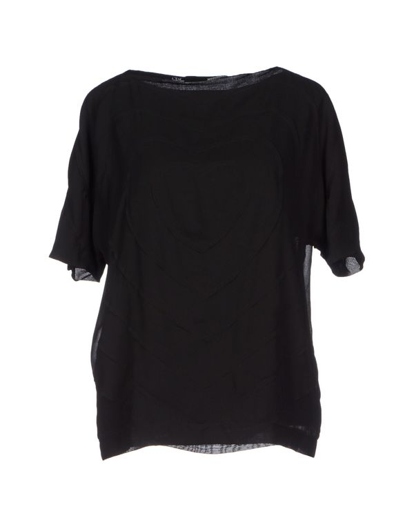 黑色 LOVE MOSCHINO 女士衬衫