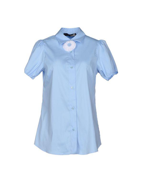 天蓝 LOVE MOSCHINO Shirt