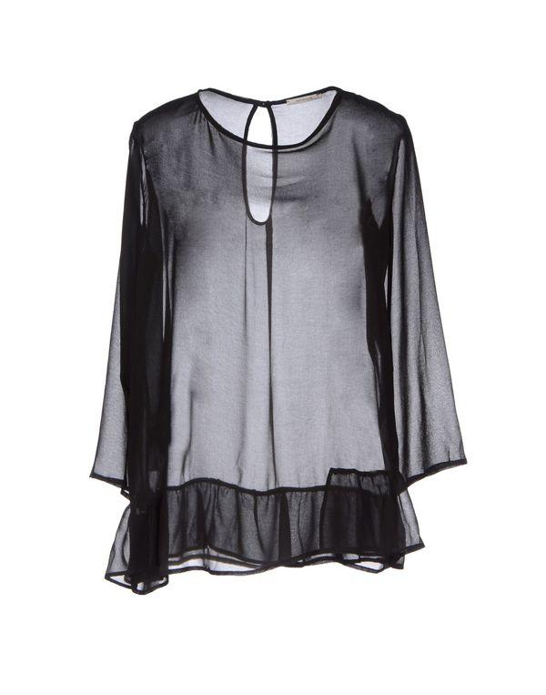 黑色 NOSHUA 女士衬衫