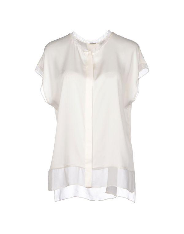 象牙白 ELIE TAHARI Shirt