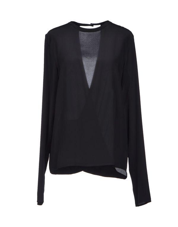 黑色 MAISON MARTIN MARGIELA 4 女士衬衫
