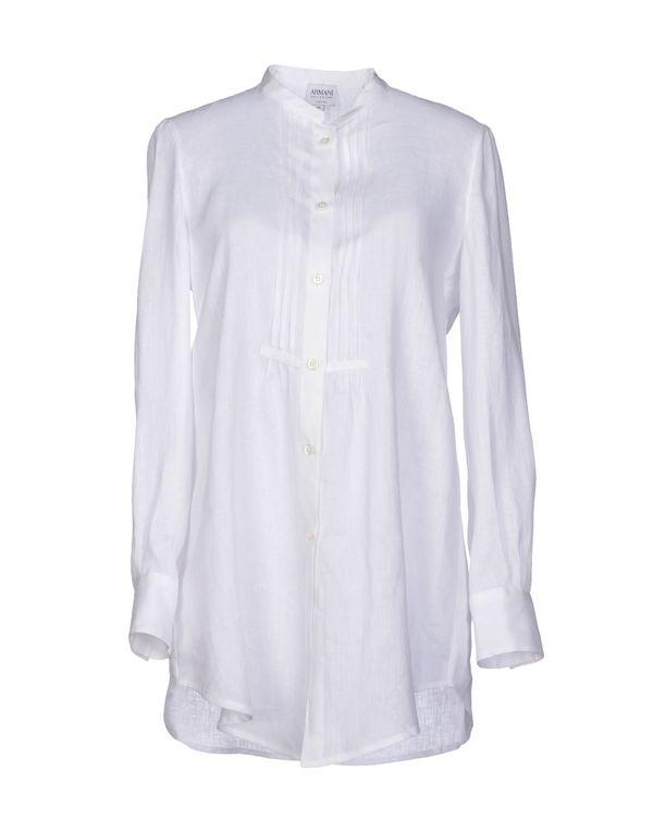 白色 ARMANI COLLEZIONI Shirt