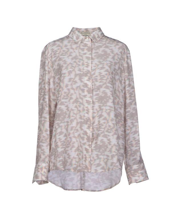 淡灰色 BALENCIAGA Shirt