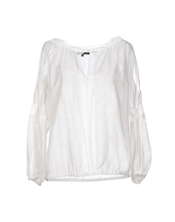 白色 BRIAN DALES 女士衬衫