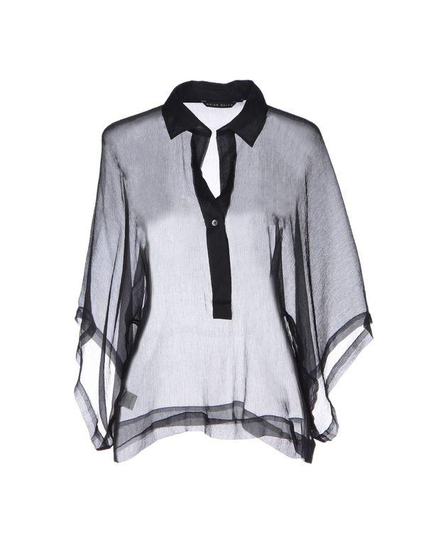 黑色 BRIAN DALES 女士衬衫