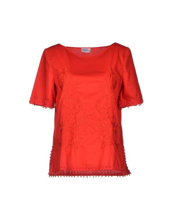 红色 PHILOSOPHY DI A. F. 女士衬衫