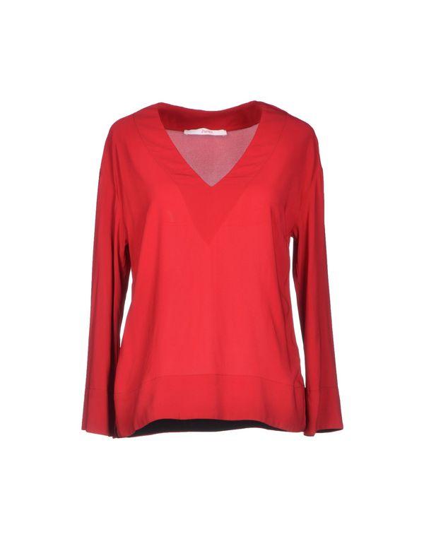 红色 JUCCA 女士衬衫