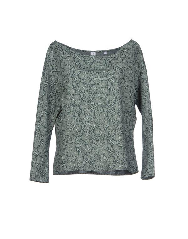 深绿色 ETICHETTA 35 女士衬衫
