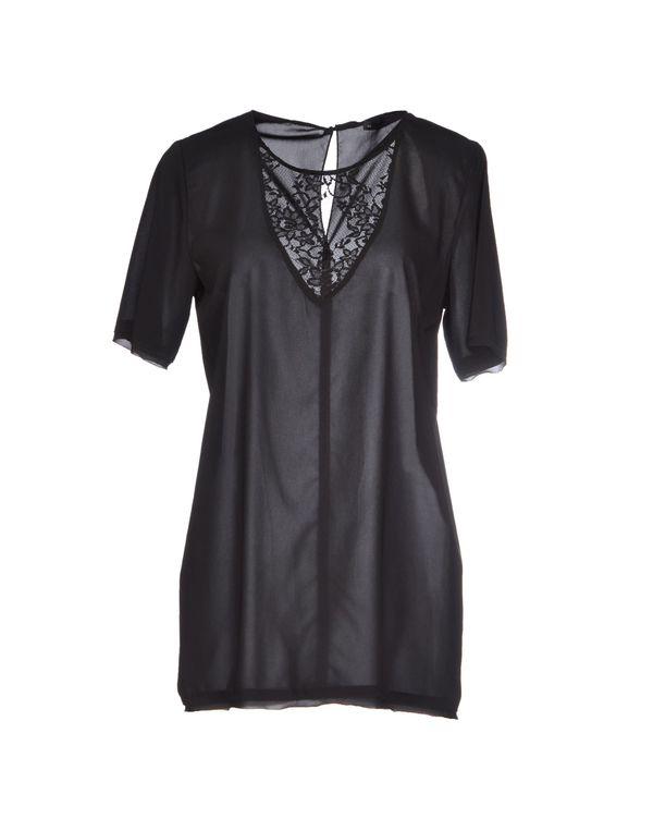 黑色 ANNARITA N. 女士衬衫