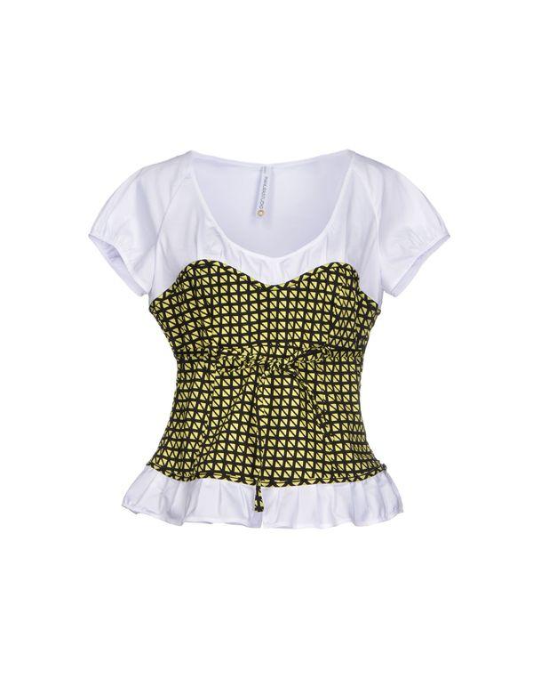 荧光绿 PIANURASTUDIO 女士衬衫
