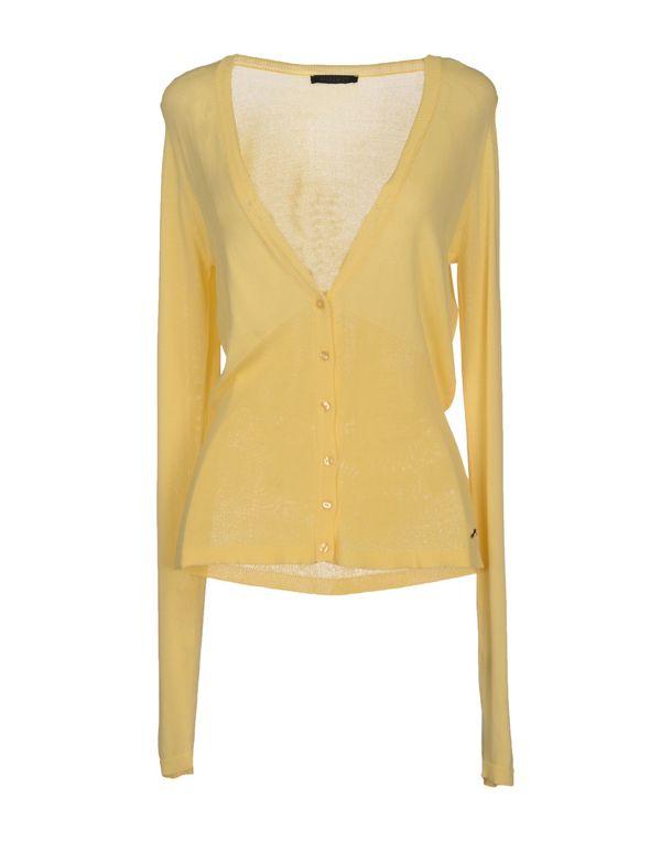 浅黄色 PINKO BLACK 针织开衫