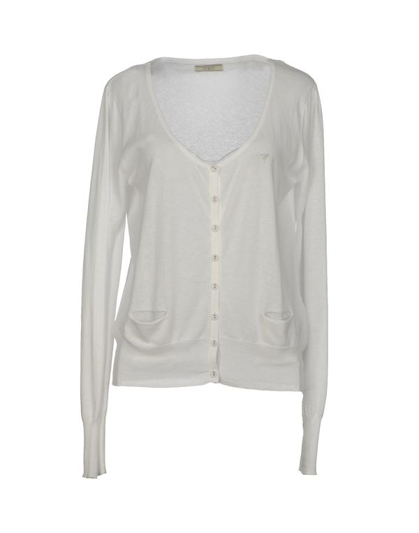 白色 GUESS 针织开衫