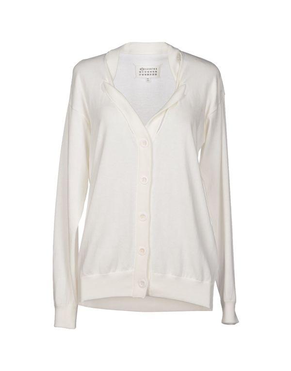 白色 MAISON MARTIN MARGIELA 1 针织开衫