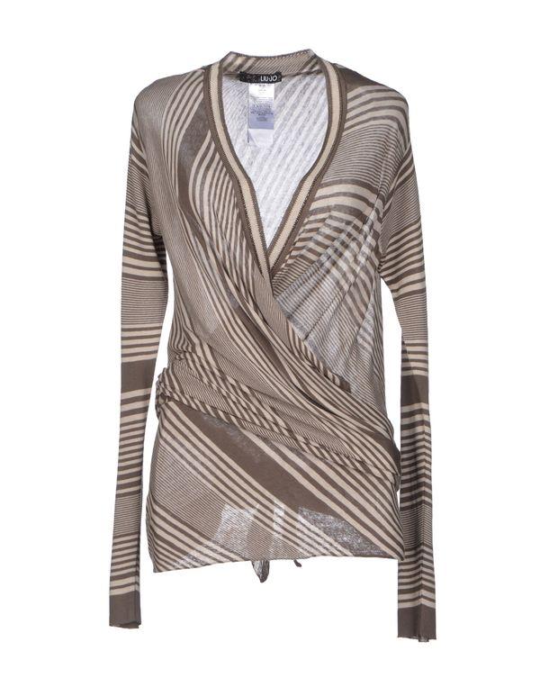 灰色 LIU •JO 针织开衫