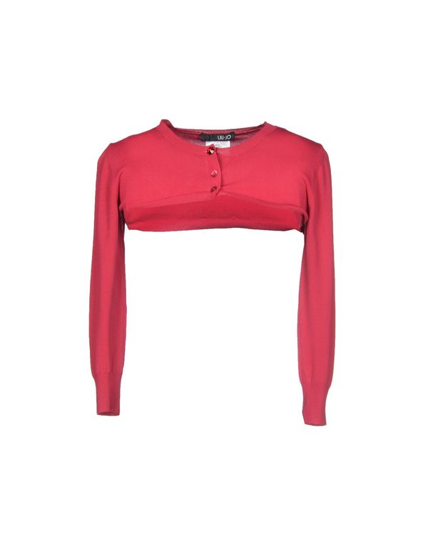 石榴红 LIU •JO 短套衫
