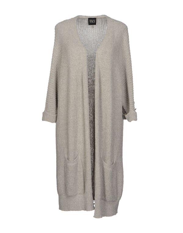 淡灰色 TWIN-SET JEANS 针织开衫