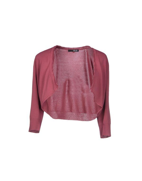 石榴红 LIU •JO 针织开衫