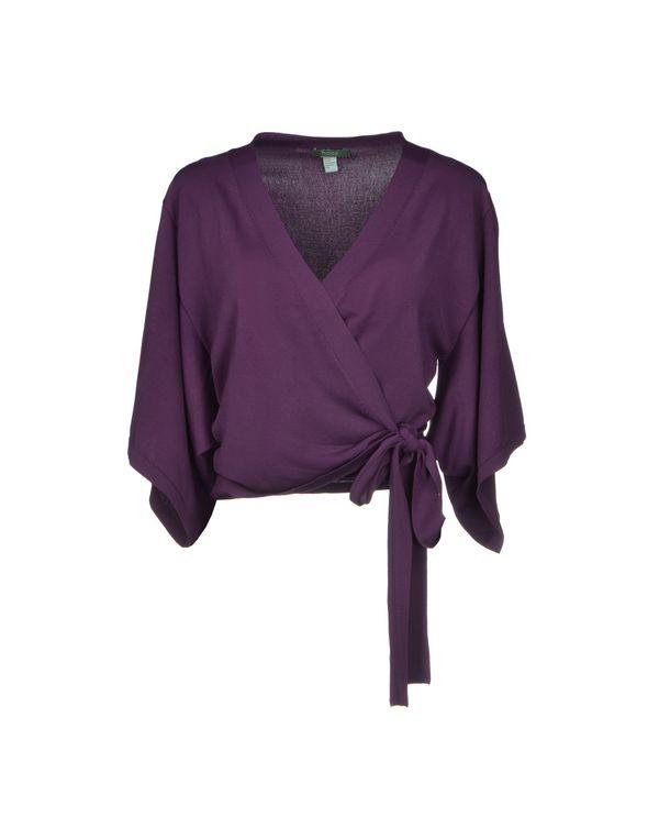 紫色 HOSS INTROPIA 针织开衫