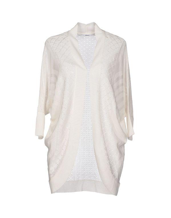 白色 ONLY 针织开衫