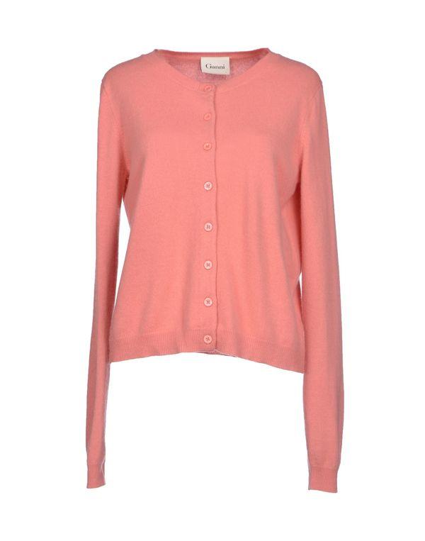 水粉红 GANNI 针织开衫